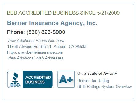 bbb berrier insurance