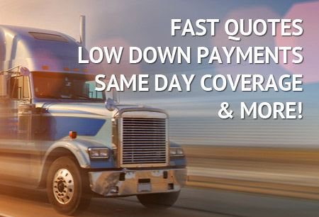 Commercial Truck Insurance Quotes Image